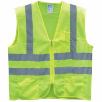 ANSI 2 MESH ZIPPER SAFETY VEST Image